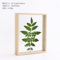 创意双面玻璃植物标本框树叶夹578 10寸相框摆台个性diy相框画框 其他尺寸