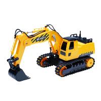 充电无线儿童玩具翻斗车 遥控挖掘机大号工程车搅拌车男孩电动