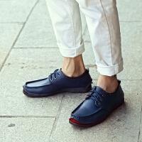 DAZED CONFUSED商务正装皮鞋英伦风时尚圆头低帮休闲鞋韩版百搭系带乞丐鞋青年潮流