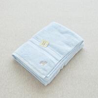 纯棉浴巾 埃及棉大浴巾洗澡毛巾 刺绣纯色加厚600g 75x135cm