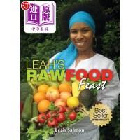 【中商海外直订】Leah's Raw Food Feast