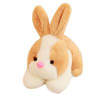 小白兔兔公仔抓机娃娃玩偶超萌生日礼物送女生仿真小兔子毛绒玩具