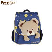 【1件4折 2件3折到手价:137】Pawinpaw宝英宝卡通小熊童装冬款男女宝宝背包婴幼儿小熊双肩包