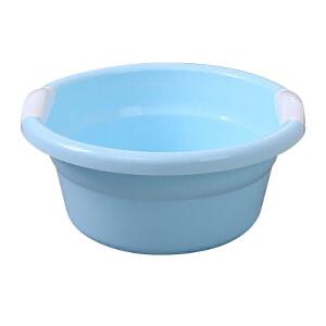 物有物语 洗衣盆大号 纯色简约加厚加大圆盆塑料盆新出生宝宝洗澡盆小孩洗涑盆不透明洗衣盆大浴盆