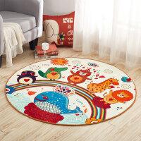 地毯客厅卧室满铺可爱现代简约儿童卡通吊篮电脑椅垫