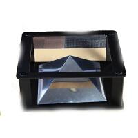 20180528045638433全息3D投影仪ipad平板电脑 三角金字塔成像 裸眼3d4D创意礼品 深灰色 塑料支