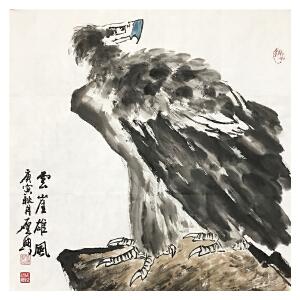 乍启典《花鸟22》著名画家