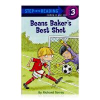 进口英文佳射手 兰登分级读物 三阶Beans Baker's Best Shot