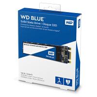 WD西部数据1T SSD固态硬盘 M.2接口(SATA总线) Blue系列-3D进阶高速读写版 蓝盘