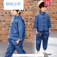 儿童唐装男童套装童装春秋季中国风宝宝中式衣服复古民族风两件套