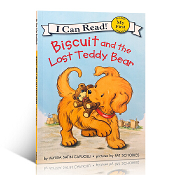 英文原版 小饼干 My First I Can Read Biscuit and the Lost Teddy Bear畅销绘本
