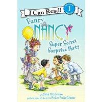 英文原版Fancy Nancy: Super Secret Surprise Party (I Can Read Le