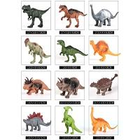 仿真动物大号霸王龙男孩子儿童玩具6-8岁男童小恐龙玩具套装