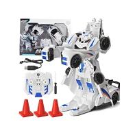 男孩儿童礼物玩具3-6-10岁变形合体金刚机器人充电动无线遥控汽车