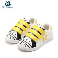 【尾品汇】迷你巴拉巴拉儿童鞋子2018新款男童女童板鞋幼童休闲鞋宝宝运动鞋
