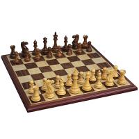 象棋花梨木黄杨木象棋木制棋子套装比赛象棋