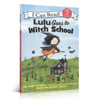 英文原版小女巫露露系列 I Can Read Level 2 Lulu Goes to Witch School 露露
