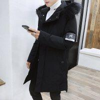 中长款棉衣男冬季外套2018新款潮流韩版衣服加厚棉袄冬天羽绒