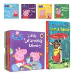 I Am a Bunny 我是小兔子 小猪佩奇 Peppa Little Learning Library 英文原版正