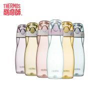 【年货节满99减50】膳魔师/THERMOS便携式tritan塑料杯运动水壶 时尚简约太空杯TCSA-500包邮