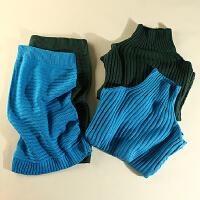 冬装新款女装高领毛衣气质包臀中裙针织学生时尚套装KY9554