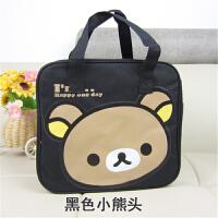 便当包大号手提包日韩卡通防水上班族小学生饭盒袋包带饭午餐袋子