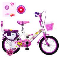 儿童自行车14寸3-6岁男女孩童车12-16-18寸小孩子的宝宝单车