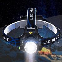 10W LED钓鱼灯 矿灯 远射T6头灯18650户外头灯 强光 充电