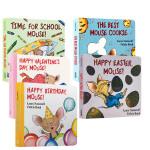 if you give a mouse cookie系列7本纸板书套装 廖彩杏儿童英文原版绘本Laura Joffe