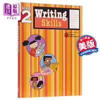 【中商原版】FLASHKIDS写作技巧:2年级 Writing Skills: Grade 2 小学教辅教材工具书 写作