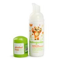 美国BabyGanics甘尼克宝贝泡沫免洗洗手液便携装柑橘味50ml
