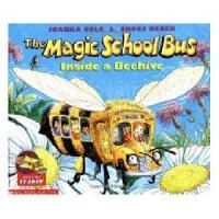 英文原版The Magic School Bus Inside a Beehive神奇校车:蜂巢内部 绘本版