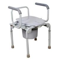 鱼跃马桶椅坐厕椅H021B 老人孕妇坐便椅 更多优惠搜索【好药师鱼跃】