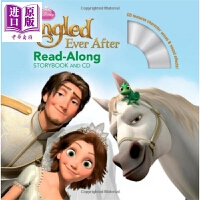 【中商原版】独立阅读故事:长发公主电影版(配CD) Tangled Ever After Read-Along 迪士尼童