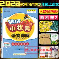黄冈小状元六年级下语文详解语文六年级下册RJ人教版2020春
