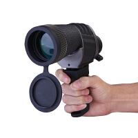 捷�N单筒望远镜 10X50高倍高清夜视非红外小钢炮望远镜