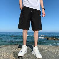 短裤男士夏季2021新款外穿休闲韩版潮牌五分中裤运动