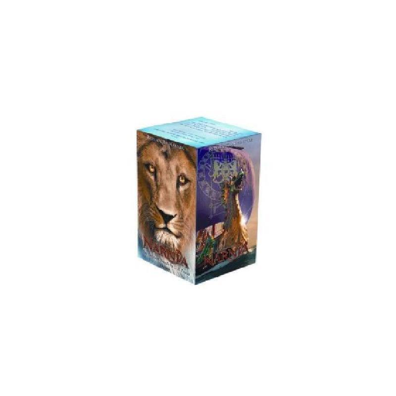 【现货】英文原版The Chronicles of Narnia Movie Tie-in Box Set  纳尼亚传奇1-7册 简装版套装  8岁以上适读  青少年读物 假期阅读 国营进口 质量保证!