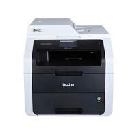 兄弟MFC-9140CDN彩色激光打印复印扫描传真机一体机 自动双面网络