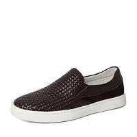 Senda/森达春季专柜同款牛皮革男休闲鞋2DZ01AM6 专柜1