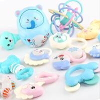 儿童宝宝幼儿男女孩牙胶1岁 手摇铃婴儿玩具0-3-6-12个月