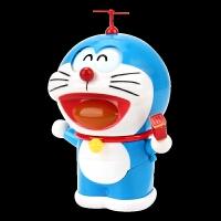 百变哆啦a梦玩具抖音同款变脸万代网红机器猫手办小叮当猫掏东西 蓝色多哆啦a梦