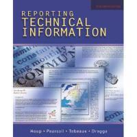 【预订】Reporting Technical Information