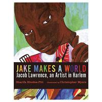 Jake Makes a World杰克创作了一个世界 艺术插画书