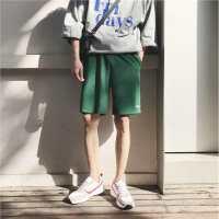 男士裤子夏装新款韩版潮流青少年直筒休闲运动短裤宽松百搭沙滩裤