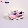 红蜻蜓童鞋春秋款女童中童运动复古鞋