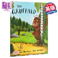 【中商原版】咕噜牛 英文原版 The Gruffalo Big Book 地板书 名家绘本