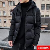 棉衣男士外套冬季2018新款韩版潮流ins羽绒加厚短款棉袄冬装