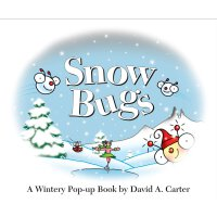 Snow Bugs: A Wintery Pop-up Book (David Carter's Bugs) 神奇动态体验立体认知书・下雪天,找虫虫