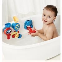 宝宝洗澡玩具套装转转乐婴幼儿戏水玩水男孩女孩家用